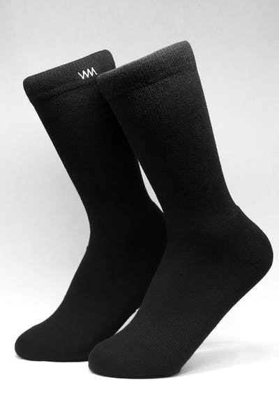 WELL MADE GYM SOCK BLACK