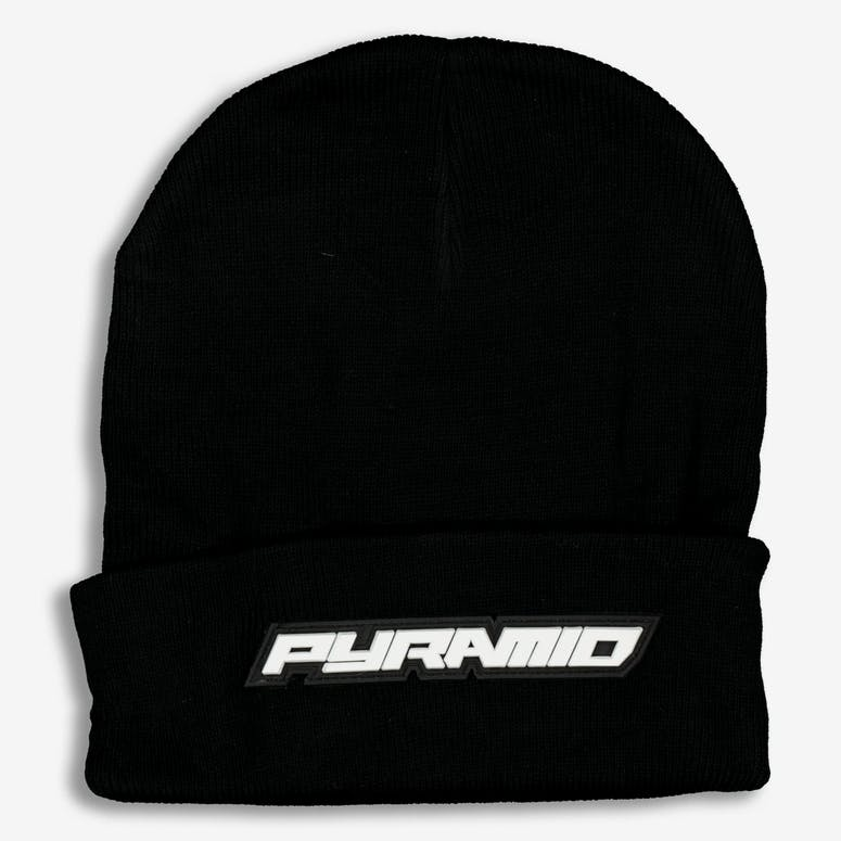 40eb16d5336 Black Pyramid Fold Pyramid Scully Beanie Black – Culture Kings