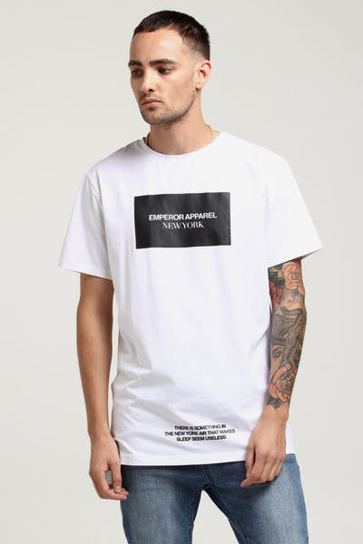 Emperor Apparel New York T-Shirt White