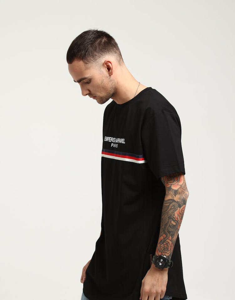 Emperor Apparel Naples T-Shirt Black