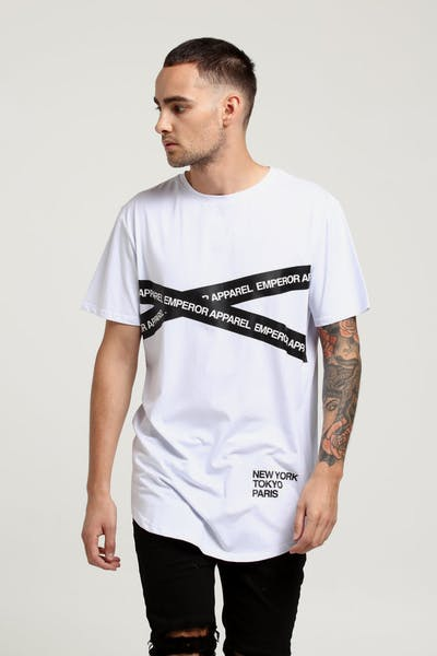 Emperor Apparel Achtung T-Shirt White