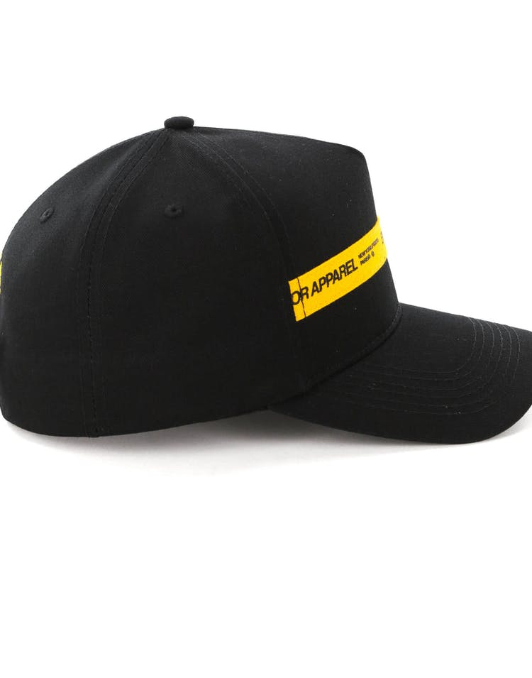 Emperor Apparel Fire Tape 940 Snapback Black