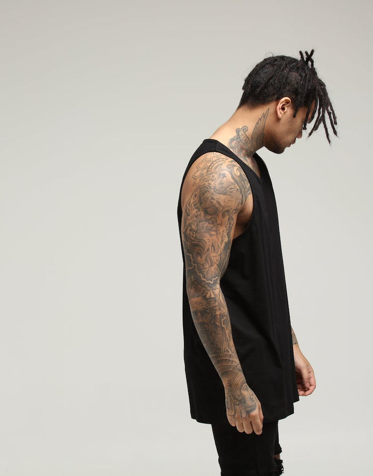 New Slaves Motion Tank Black