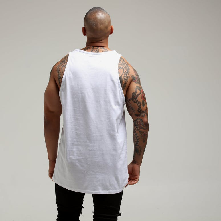 New Slaves Motion Tank White