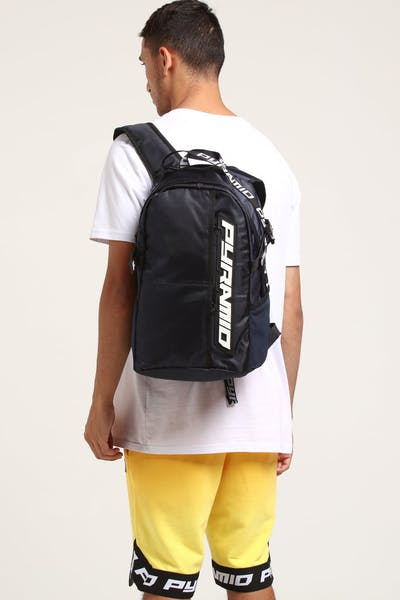 Black Pyramid Pyramid Backpack Navy