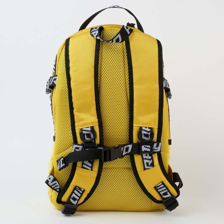 Black Pyramid Pyramid Backpack Yellow