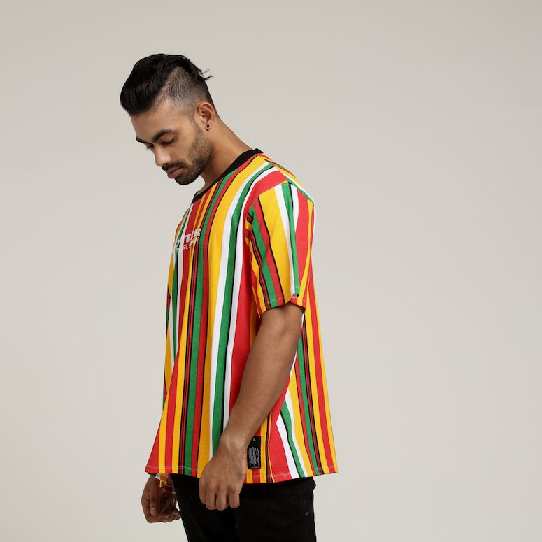Loiter NYC Fruit Salad Tee Red/Yellow/Green