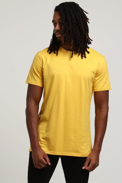 Well Made Standard Issue Tee Mustard