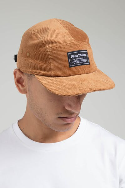 Grand Scheme Cord 5 Panel Toasted Peanut
