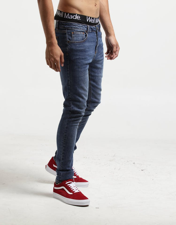 New Slaves Indigo Jeans Indigo