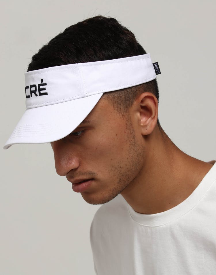 Carré Pinnacale Visor White
