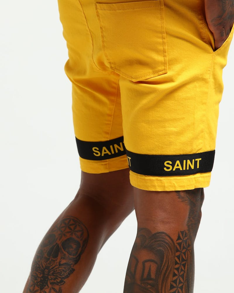 Saint Morta First Class Walk Short Mustard/Black