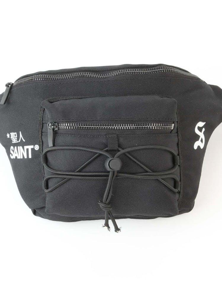 45bce0a1a3f8 Saint Morta Origins Shoulder Bag Black