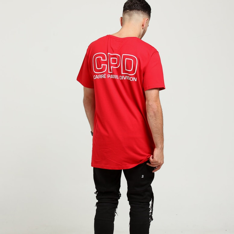 Carré CPD Divise SS Tee Red