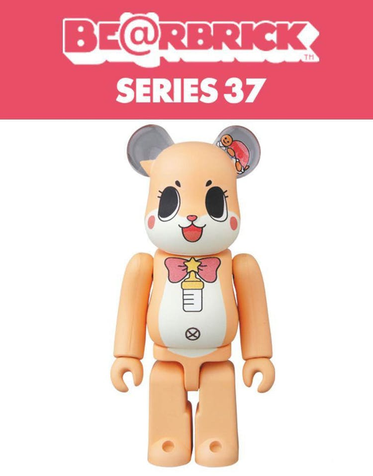 a489c622 Medicom Toy BE@RBRICK Series 37 Blind Box Figure Multi-Coloured ...