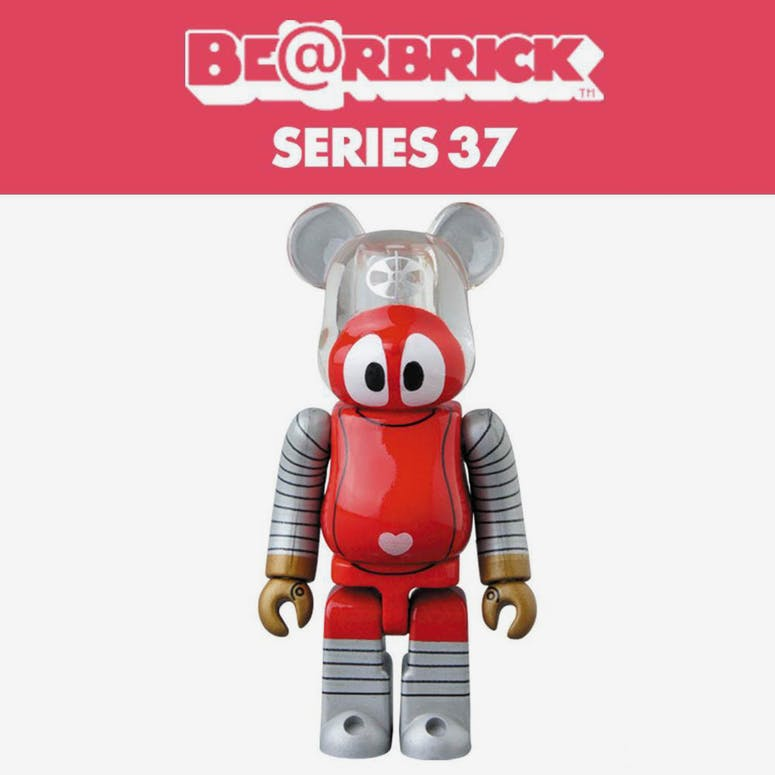 Medicom Toy BE@RBRICK Series 37 Blind Box Figure Multi-Coloured
