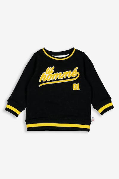 Lil Hommé LH Undefeated LS Sweater Black