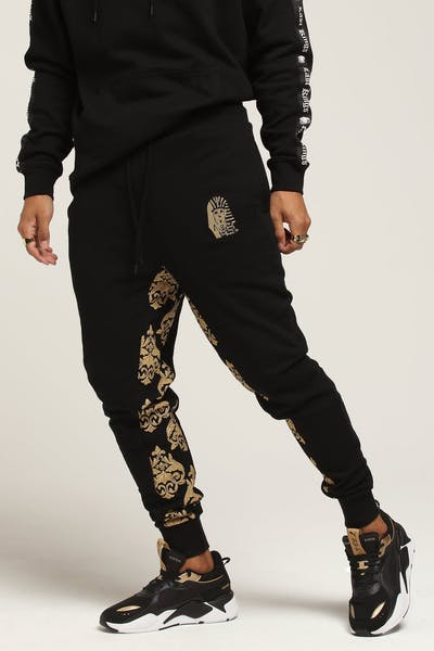 Last Kings Baroque Trackpants Black/Baroque