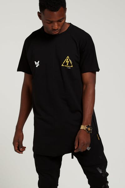The Anti Order Non-Voltage Regulation Tee Black Yellow 6975ee07a