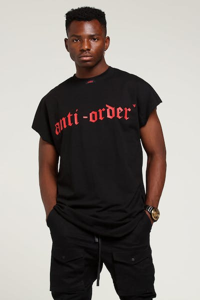 The Anti-Order Non-Gothic XY Bat Sweat Black/Red