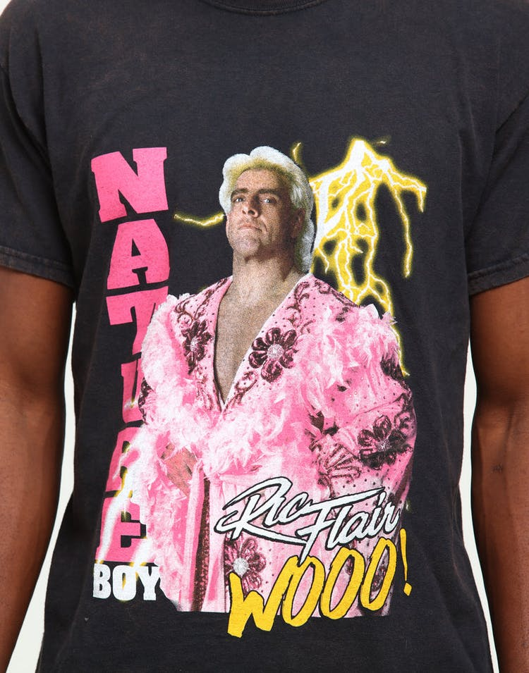 62b3e19ef15 WWE Ric Flair Vintage Tee Black – Culture Kings