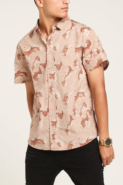 Grand Scheme Savanna Button Up Tan