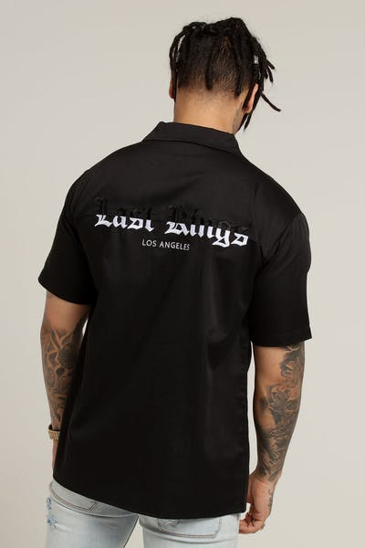Last Kings The Grind Button Up Black