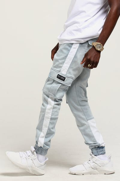 Saint Morta Deception Denim Jogger Light Blue
