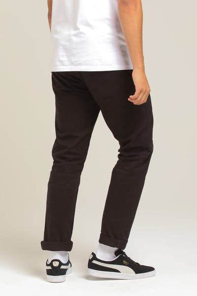 New Slaves Slim Fit Chino Black