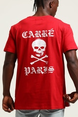 CARRÉ MARKED SS DIVISE TEE RED