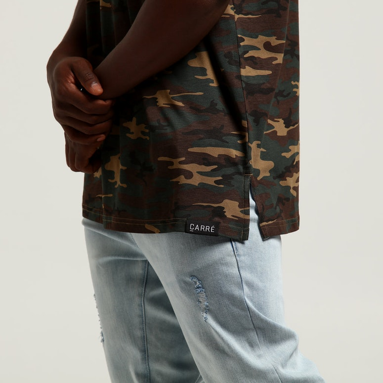 Carré Majestic Divise SS Tee Camo
