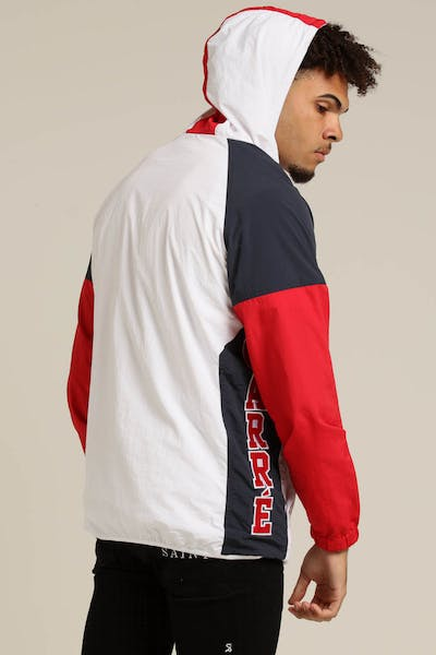 Carré Sprint Raglan Jacket White/Navy/Red