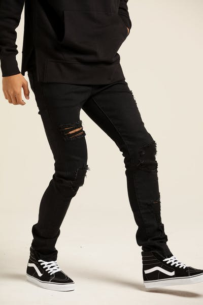 New Slaves Vortex Jeans Black