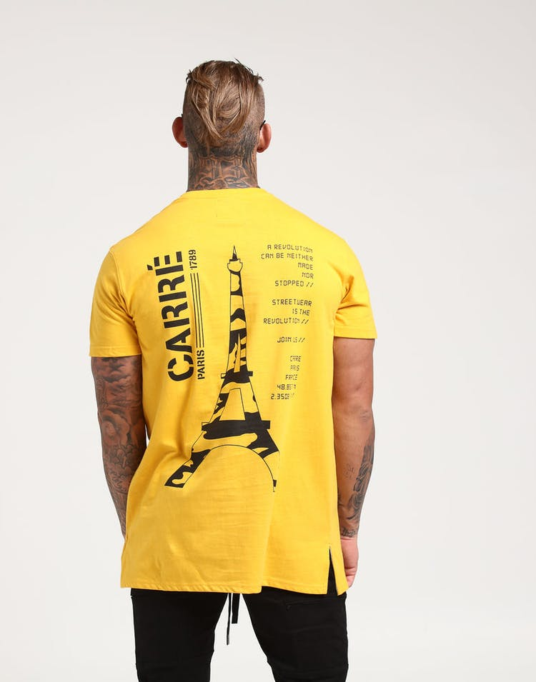 Carré Technical SS Divise Tee Yellow