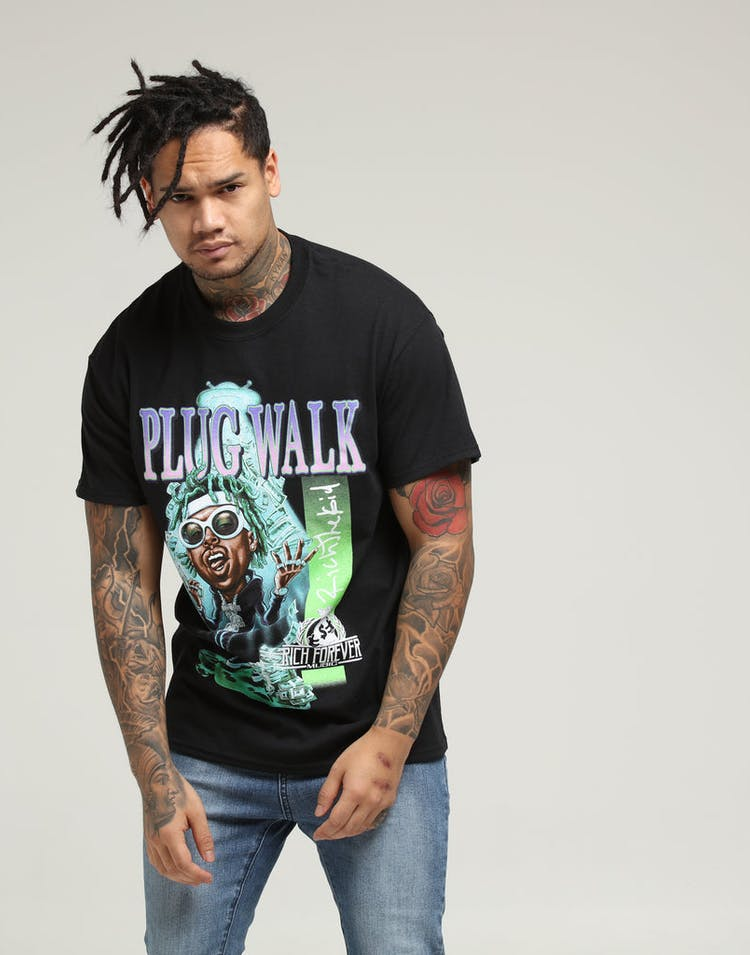 Bravado Rich The Kid Bravado x Culture Kings Tee Black