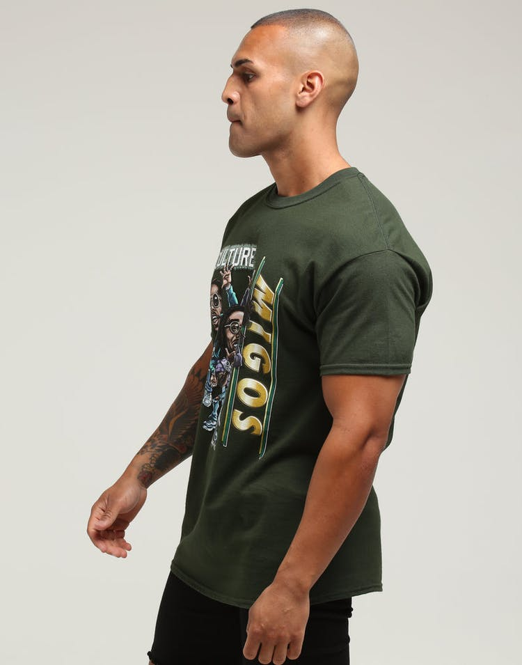 Bravado Migos Bravado x Culture Kings Tee Green