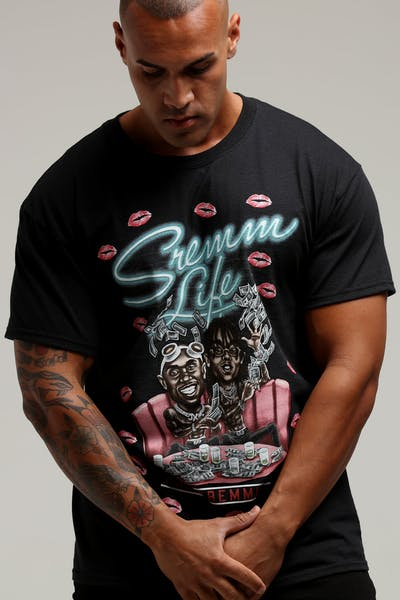 Bravado Rae Sremmurd Bravado x Culture Kings Tee Black