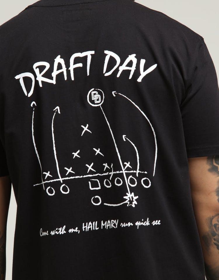 Draft Day Hail Mary SS Tee Black