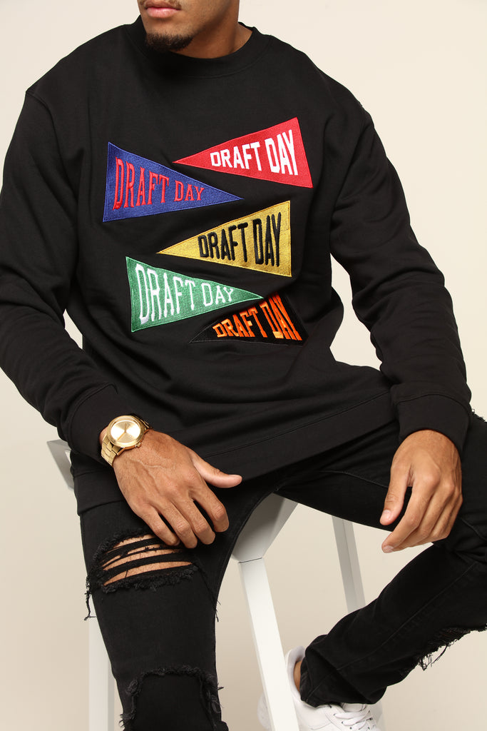 Black Champs Sweater Day Draft Ls m0N8nwv