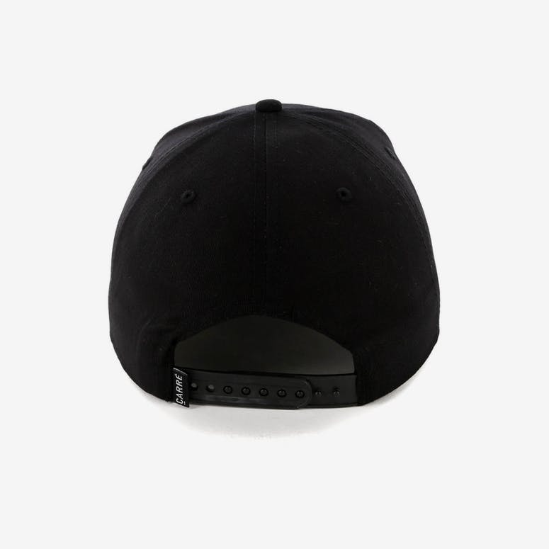 Carré Merged Snapback Black