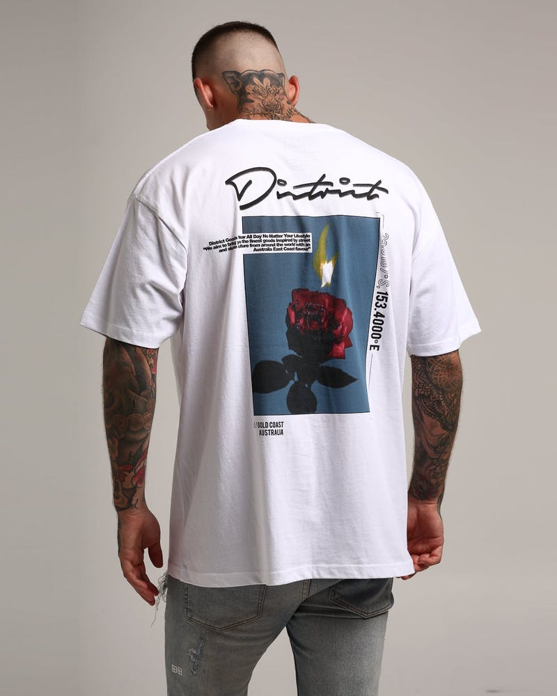 District Goods Eternity Tee White