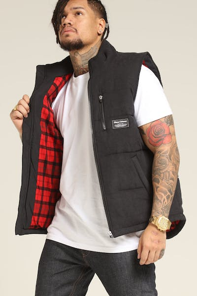 Grand Scheme Duck Season Puffer Vest Black
