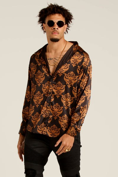 Last Kings Best Life Button Up Baroque