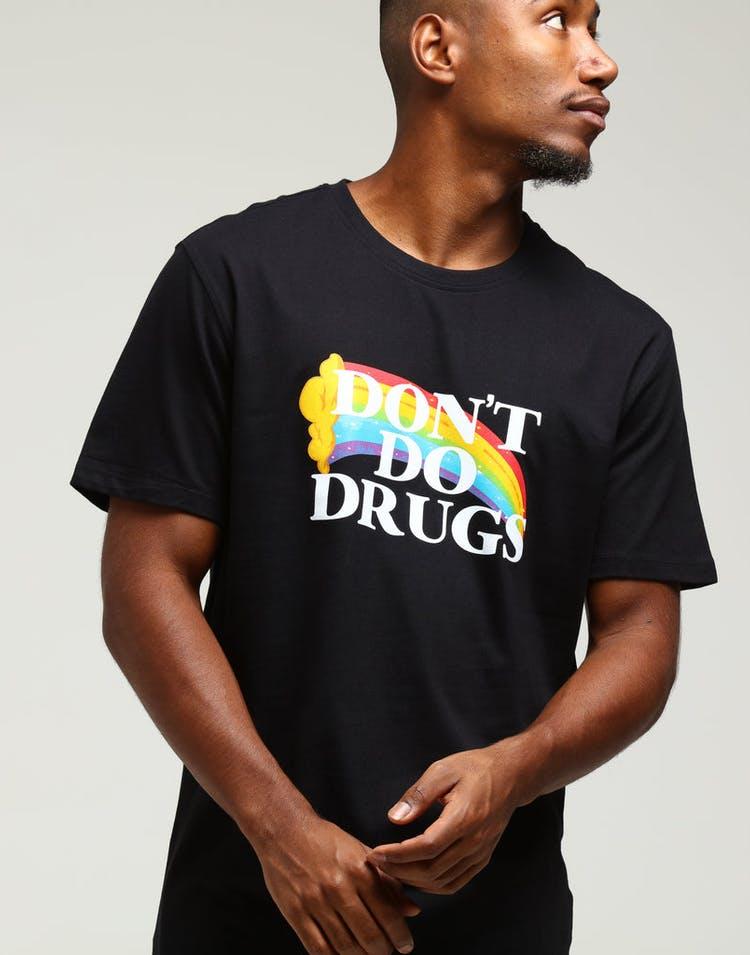 d957c2e81c0d57 Goat Crew Don t Do Drugs Tee Black – Culture Kings