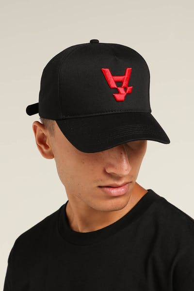 The Anti-Order A1 Strapback Black/Red