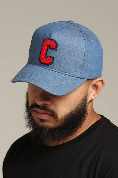 Carré Faculte Strapback Light Blue