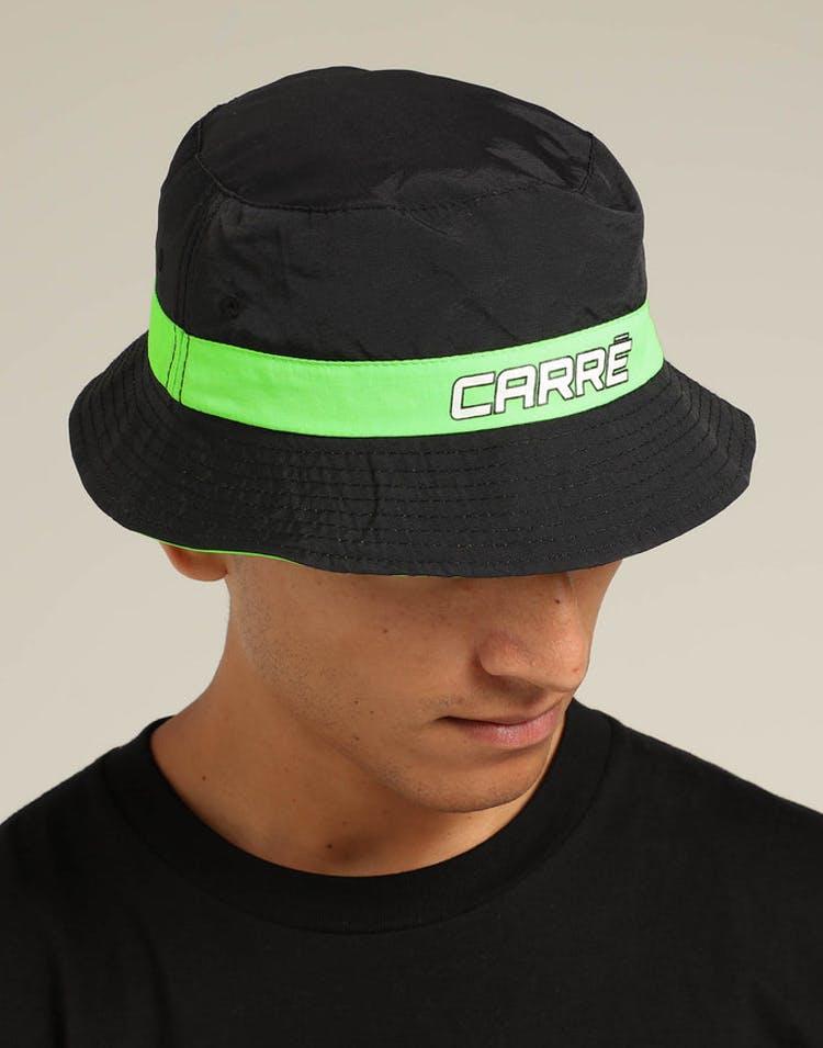 09e97d84 Carré Neon Reversible Bucket Hat Black/Neon – Culture Kings