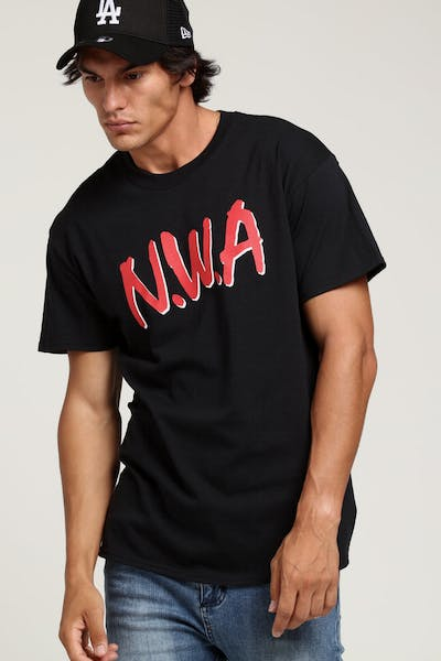N.W.A That Sh#t Was Dope Tee Black