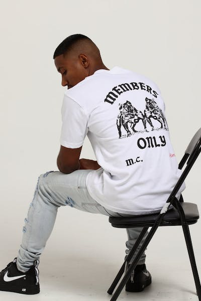 4HUNNID Members Only Tee White