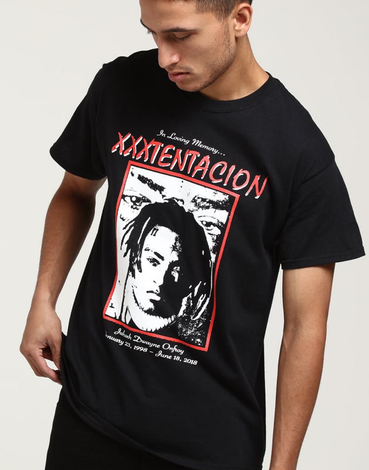 XXXTentacion Loving Memory Tee Black